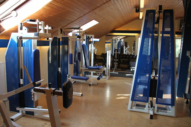 Fitness-Studio im Sportheim des TSV Schlüsselfeld