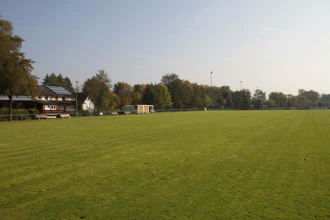 Der Fußballplatz in Schlüsselfeld