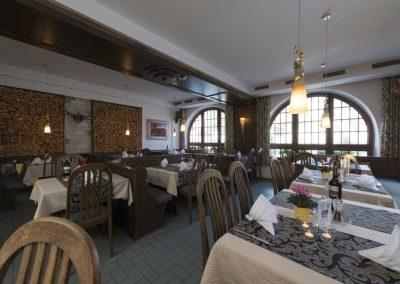 Genießen Sie Speisen aus dem Steigerwald in unserem Restaurant