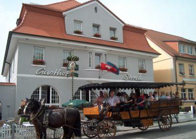 Kutschfahrt im fränkischen Weinland