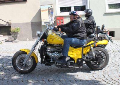 Mit der Harley durch Schlüsselfeld