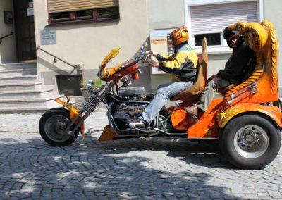 Motorradfahrer sind bei uns herlich willkommen