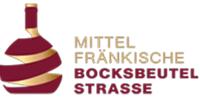 Logo der Mittelfränksichen Bocksbeutelstrasse