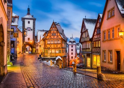 Rothenburg ob der Tauber im Winter