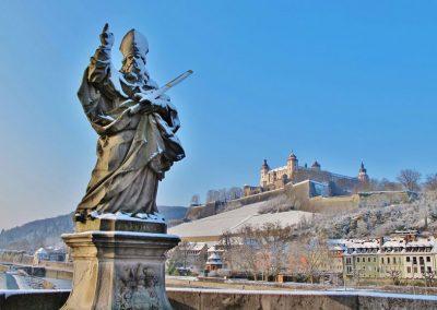 Würzburg, Sankt Kilian, Festung Marienberg