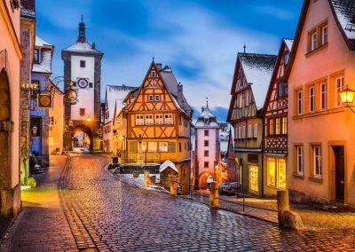 Rothenburg ob der Tauber zur Weihnachtszeit