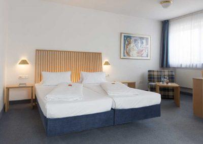 Beispiel für ein Doppelzimmer in unserem Hotel