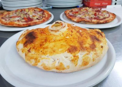 Leckere Pizza-Gerichte