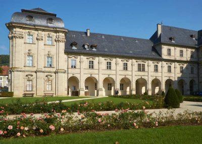 Das Kloster in Ebrach