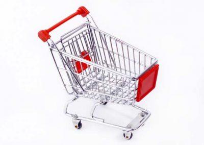 Einkaufen nach Lust und Laune.
