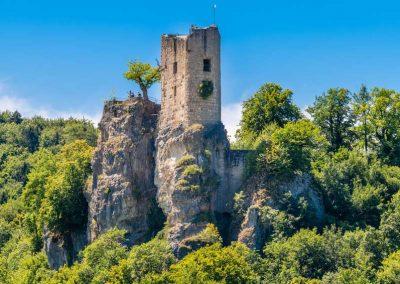 Sehenswerte Bauwerke längst vergangener Tage in der Fränkischen Schweiz