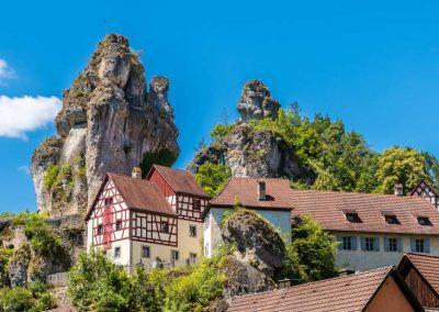 Blick in die Fränkische Schweiz - einzigartige Bauwerke und Natur