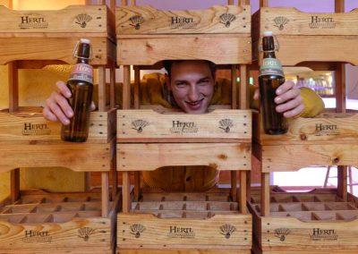 Braumeister & Biersomelier David Hertl wie er leibt und lebt