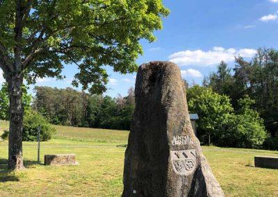 Der Dreifrankenstein im Steigerwald
