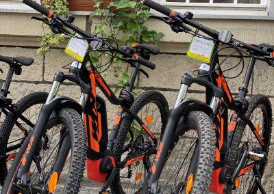 Mit dem E-Bike können Sie bei Anstiegen Ihre Gelenke schonen